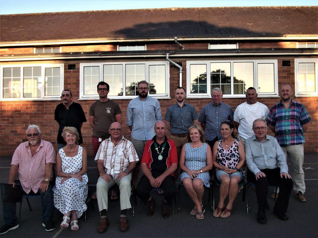 Group shot of council membership 2018